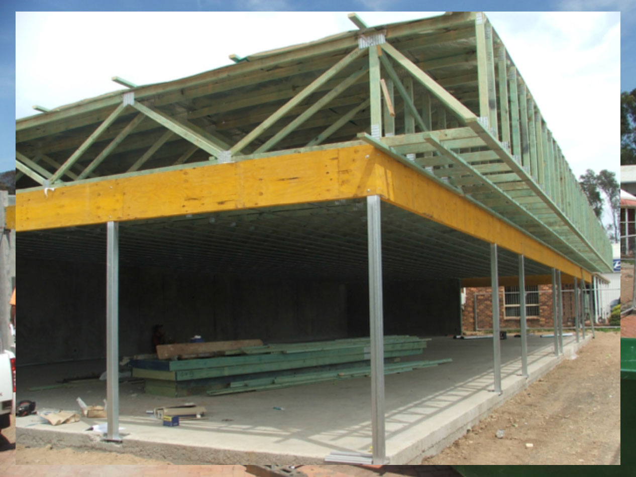 Commercial Use Of Timber Roof Trusses The Truss Amp Frame